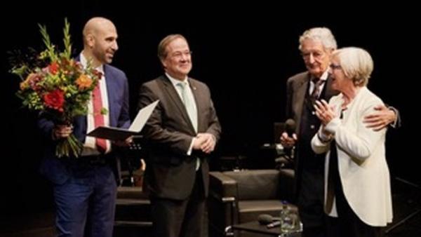 Verleihung des Menschenrechtspreis an Ahmad Mansour